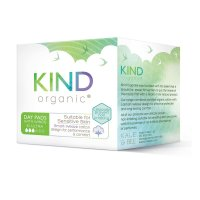 Kind Organic Day Pads With Wings 10 Per Pack