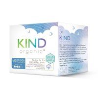 Kind Organic Night Pads With Wings 9 Per Pack