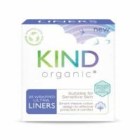 Kind Organic Ultra Thin Liners - Wrapped 20 Per Pack