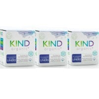 Kind Organic Thin Wrapped Liners 20'S X 3 Value Pack