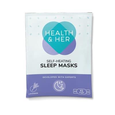 Health & Her Self-Heating Sleep Masks