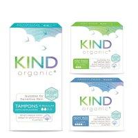 Kind Organic Regular Tampon & Day / Night Pads bundle