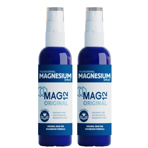mag 12 magnesium oral spray double pack