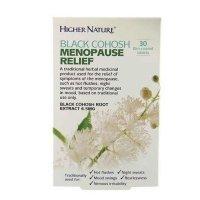 Higher Nature Black Cohosh Menopause Relief 30 Cap