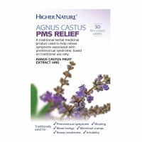Higher Nature Agnus Castus PMS Relief, 30 Capsules