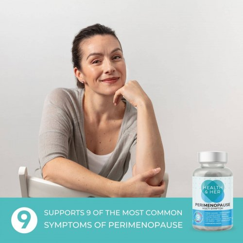 Health & Her Perimenopause Multi-Symptom Supplement