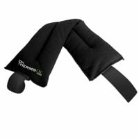 Lavender Microwaveable Fleece Heatpack - Black