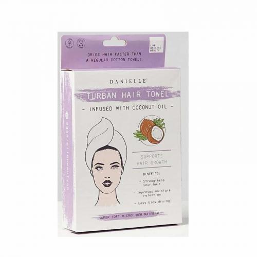 Danielle Creations Hair Turban Coconut Oil Infused
