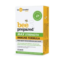 UNBEELIEVABLE HEALTH BEE PREPARED MAX STRENGTH CAPSULES
