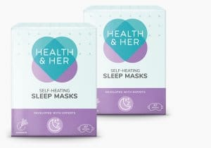 Health & Her Self-Heating Eye Masks