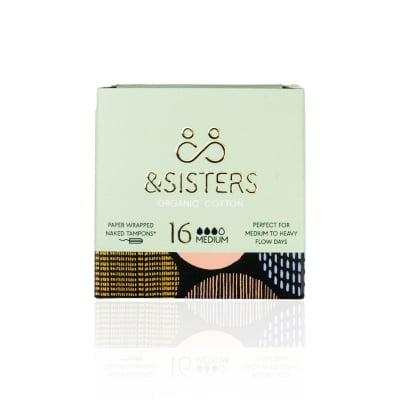 Wrapped Medium Tampons - &sisters tampons